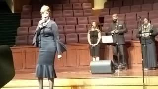 DorindaClark Cole sings hit God Bless This House