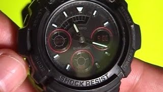 how to set g shock alarm easily