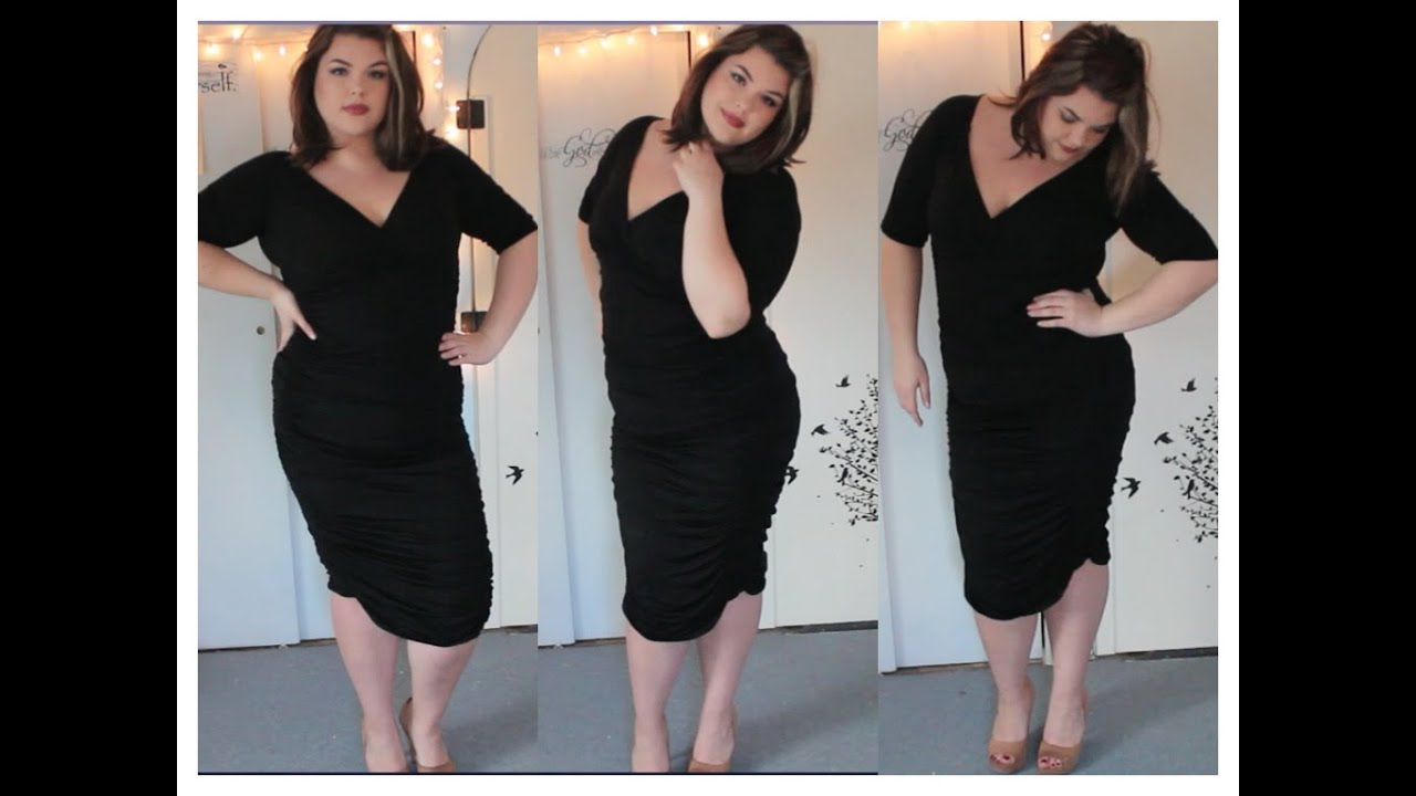 The Perfect Plus Size Lbd Youtube