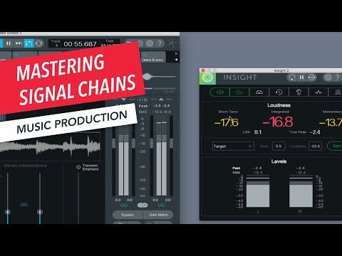 How to Use Signal Processing Tools for Mastering | Music Production | Recording Studio | Ozone | EQ