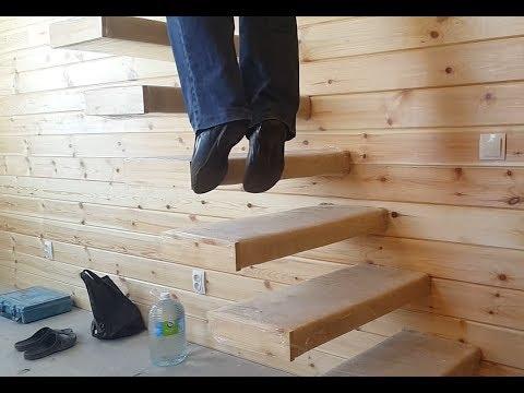 краш тест консольной лестницы  на излом дополнеие ч 3.1