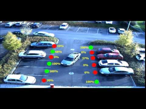 Detection of free parking spaces  v0.1