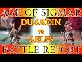 The Great Crusade - Warhammer: Age of Sigmar Battle Report - Ep 2, Aelfs vs Duardin