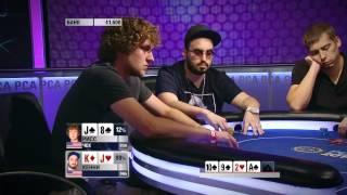 Европейский Покерный Тур 10. PCA. Турнир суперхайроллеров 1/4
