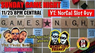 NEW 3 Brothers LIVE EXTRAVAGANZA - Sunday Game show with WINDY CITY FRENZY - CALL US
