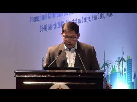 ISGW 2018 |Sujoy Ghosh,First Solar| Renewables And Microgrids