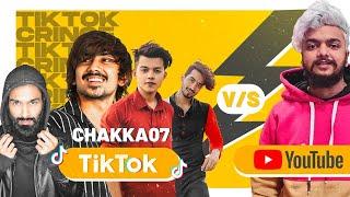 Youtube Vs Tiktok | Team07 & Mrs. Riyaz Roast | Roasting Guru