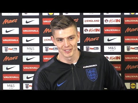 Nick Pope Press Conference Ahead Of First England Call-Up Ahead Of Upcoming Friendly Against Holland