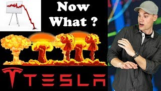 TESLA Stock is Getting Destroyed!!! - Now What?