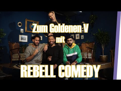 REBELL COMEDY über Depressionen & Humor / ZUM GOLDENEN V