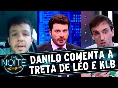 The Noite (18/11/15) - Danilo Comenta Sobre A Briga Entre Léo Lins E Bruno Do KLB