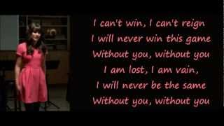 Download Glee - Without You (lyrics) MP3 song and Music Video