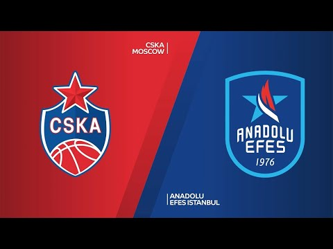 CSKA Moscow - Anadolu Efes Istanbul Highlights | Turkish Airlines EuroLeague, Semifinals