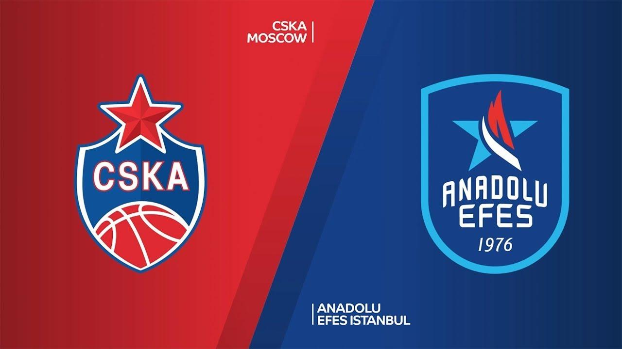 ÖZET | CSKA Moscow - Anadolu Efes Videosu