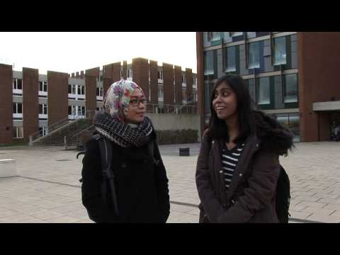My First Day at University of Sussex