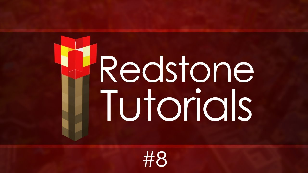 Redstone Tutorials 8 Logic Gates Youtube Digital Gate Tutorial Basic