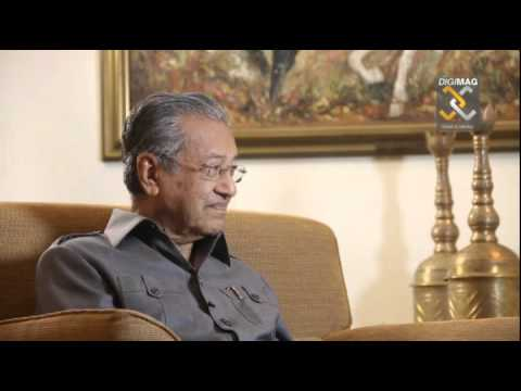 DINAR DIRHAM DIGIMAG: Interview with Tun Dr. Mahathir Mohamad