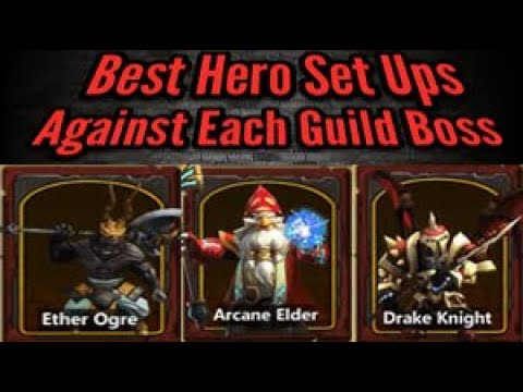 Clash Of Lords 2 Best Guild Boss Set Ups 2019
