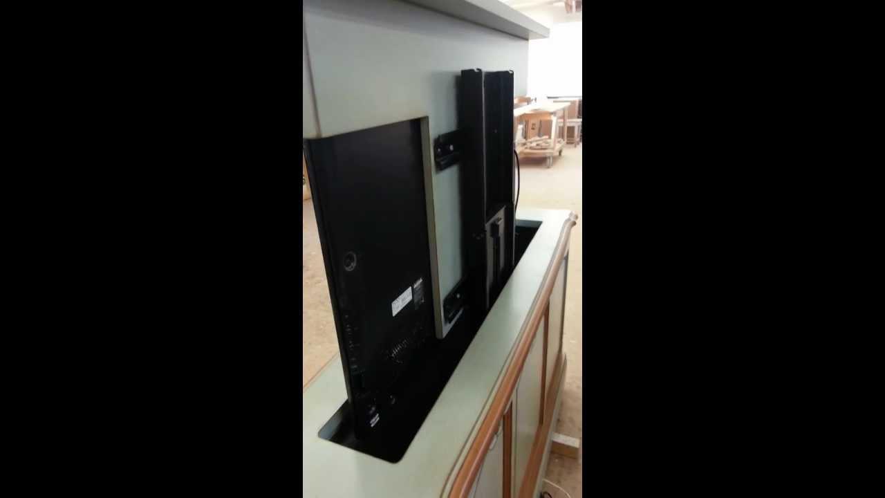 ebay tv lift system billig g nstig m ngel youtube. Black Bedroom Furniture Sets. Home Design Ideas