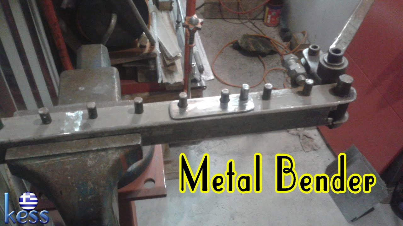 Diy Metal Bender For Bending Reinforcing Steel Rod Round