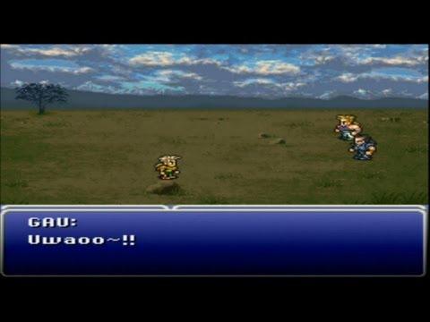 Final Fantasy VI (PS1) Part 9 Gau & Town of Mobliz