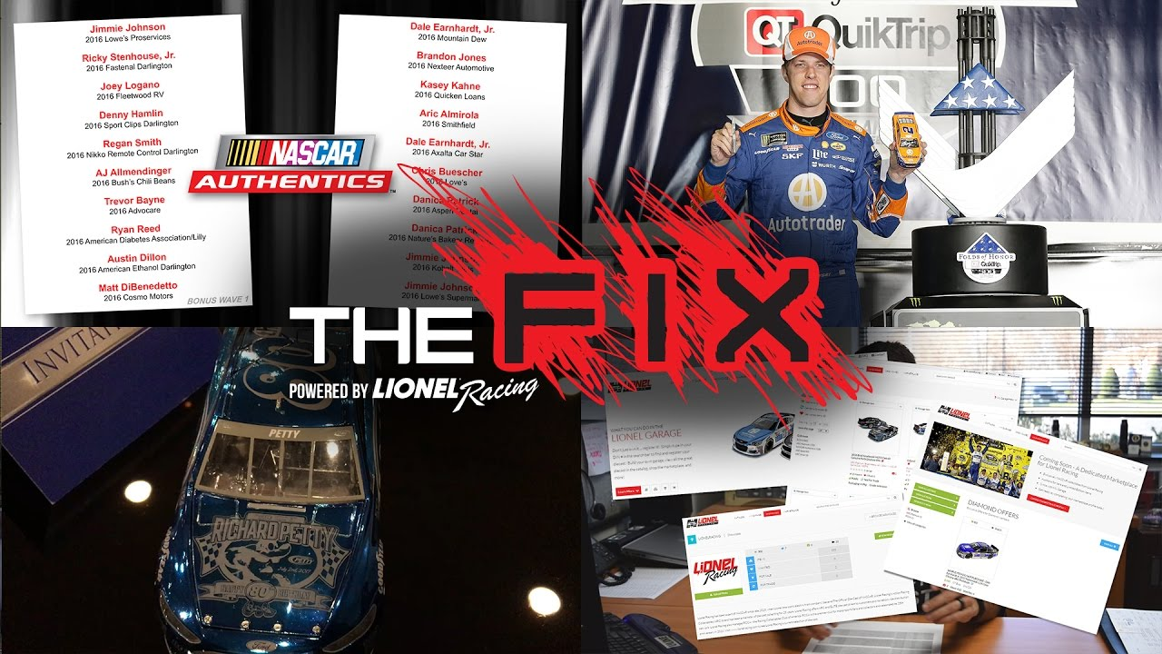 The Fix A Birthday Fit For An Icon Nascar Authentics Bonus Waves