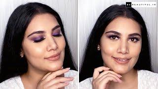 रक्षाबंधन मेकअप   Rakshabandhan Makeup Look   Indian Festive Makeup Tutorial In Hindi   Be Beautiful