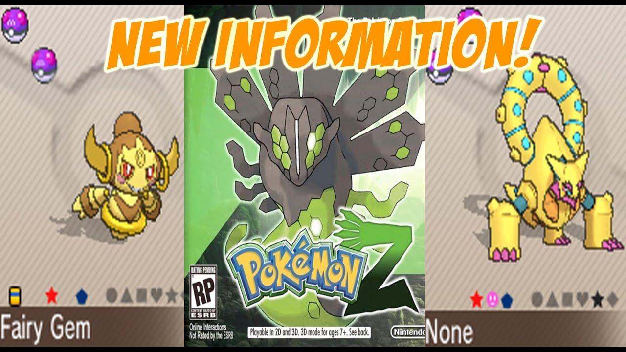 Pokemon Z Confirmed? Shiny Hoopa! Shiny Volcanion! New Zygarde ...