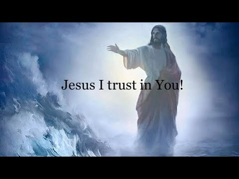 "🎼""Jesus I trust in You!""🎼"