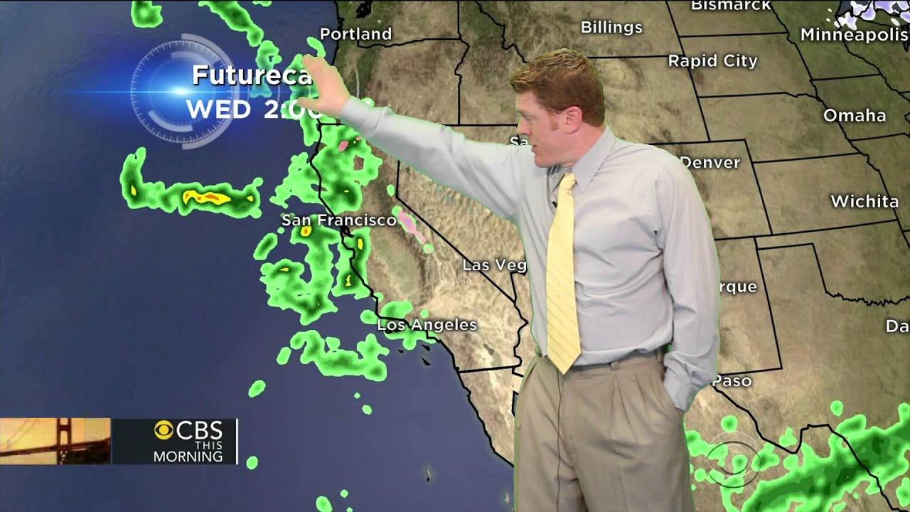 horrible west coast weather forecast youtube