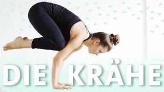 Yoga Krähe Crow Pose lernen für Anfänger in einfachen Schritten | Bakasana