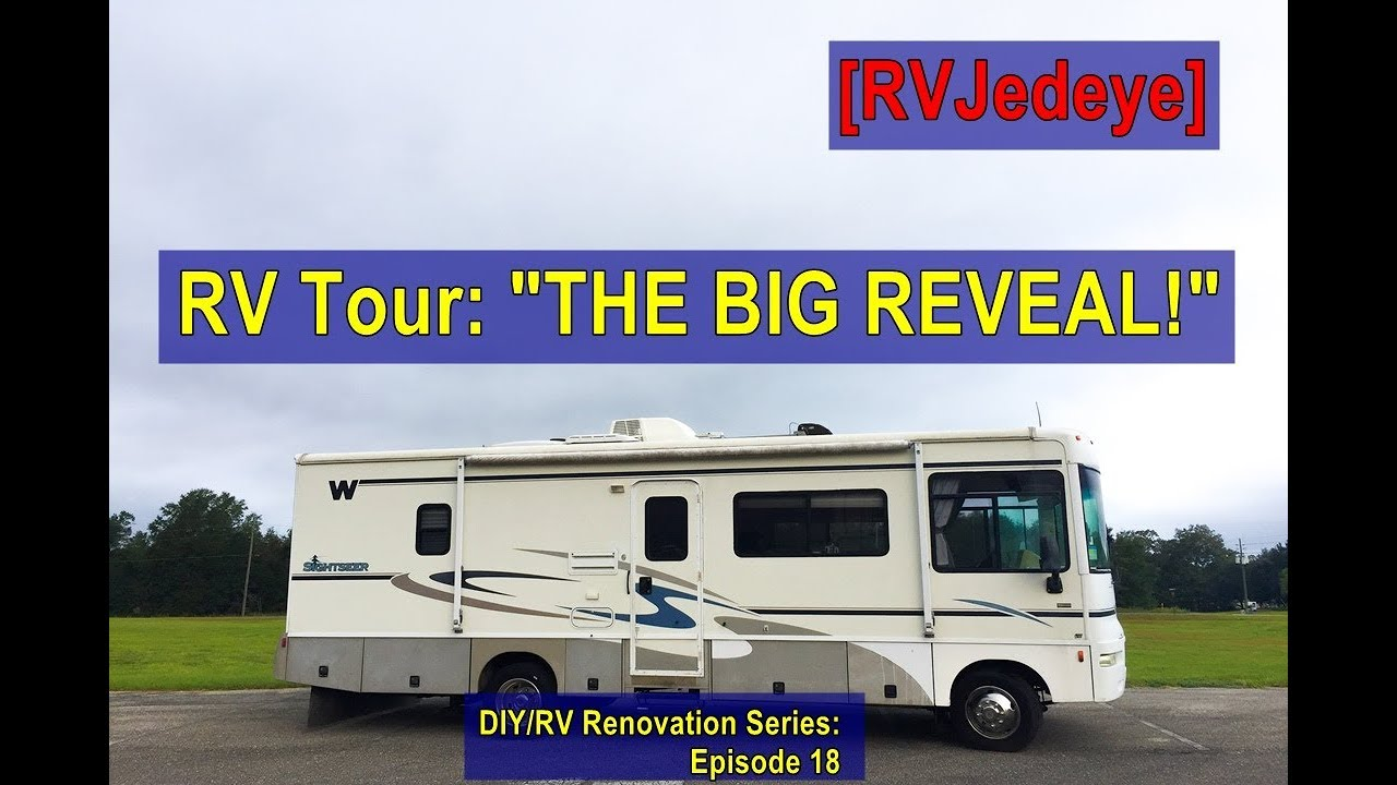Motorhome Renovation Projects You Gotta See! - The Virtual Campground