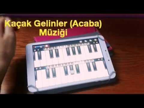 Kaçak Gelinler Dizisi |Acaba| Müziği (Piyano)
