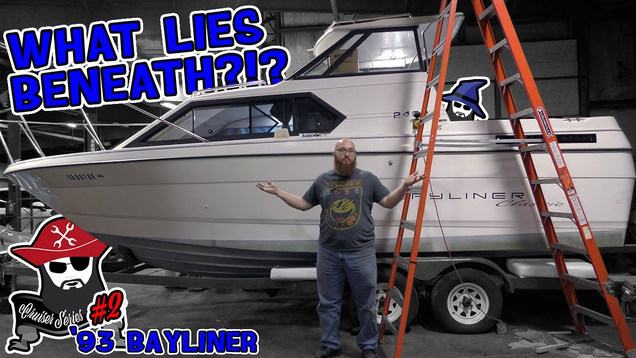Cruiser #2: What issues has the CAR WIZARD found on his '93 Bayliner? What mods has the Missus done?