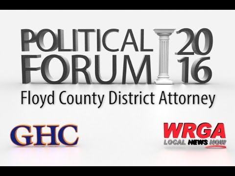 Political Forum - Floyd County District Attorney
