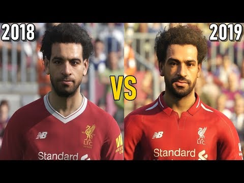 Pro Evolution Soccer 2019 vs 2018 - graphics comparison