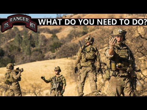 First Steps To Becoming An Army Ranger | 75th Ranger Regiment