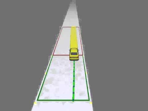 Model predictive control of autonomous vehicles on ice