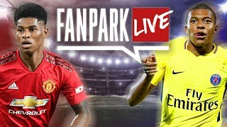 Paul Pogba sees RED! - Manchester United 0-2 PSG Live Stream | FanPark Live