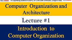 Computer Organization and Architecture Lectures in Hindi