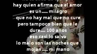 Sin tu latido (lyrics)