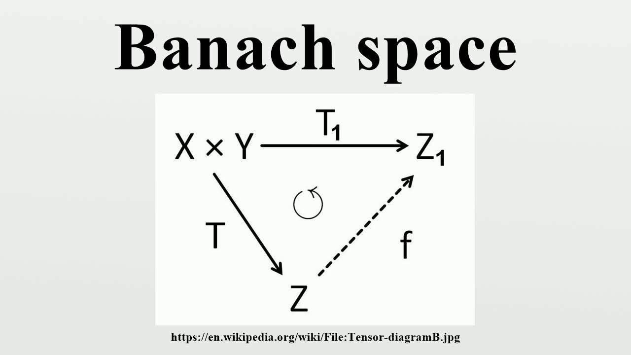 BANACH SPACE PDF