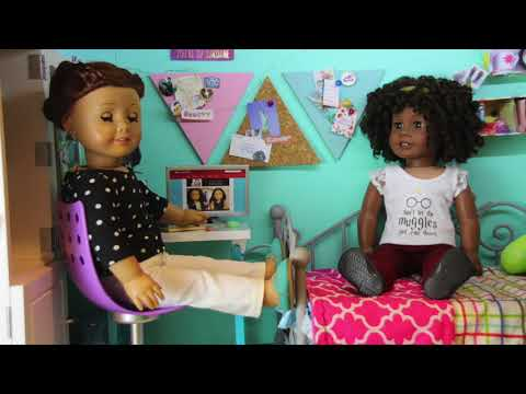 Trying to Surprise (American Girl Doll Stopmotion)