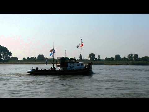 Sleepboot Victor met industrie 3VD6A dieselmotor