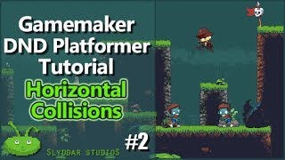 Gamemaker DND Platformer Tutorial - #2 Horizontal Collisions