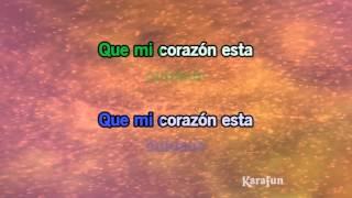 Karaoke Colgando en tus manos (salsa) - Carlos Baute *