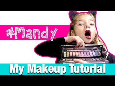 little-girl-makeup-💄-tutorial-by-#mandy