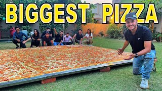 WE MADE BIGGEST PIZZA IN PAKISTAN (FOR EID)