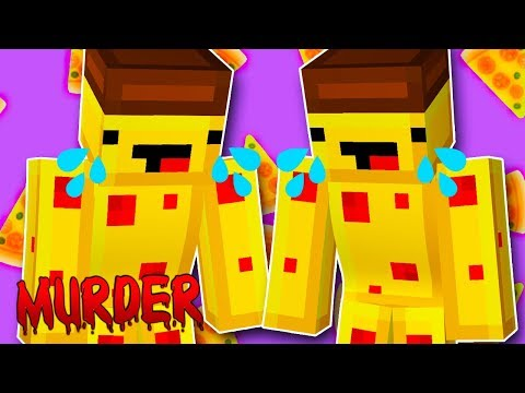 HOJE NÃO É DIA DE PIZZA! 🍕 - Minecraft Murder Mystery