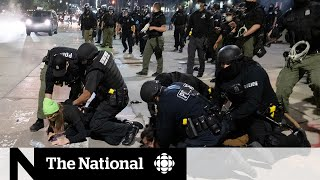 Aggressive police action during protests adds to distrust
